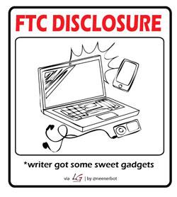 FTC Gadgets Disclosure