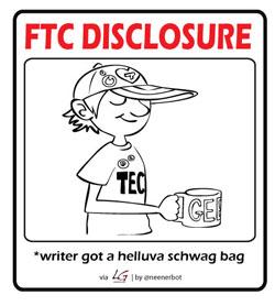 FTC Schwag Disclosure